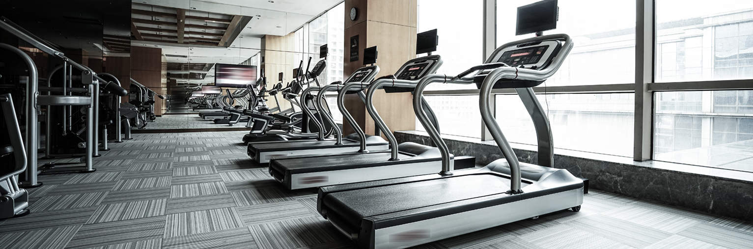 The fitness center is just 1 of the amenities offered at Worthington Yards.